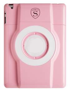 LaunchPort STRUT Sparkle Pink Finish Case for iPad 2/3