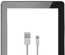 LoopDock ConvertingSet to iPad 4 black / silver