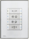 HDL-MP8B.46 8-клавишная панель, австралийский/US стандарт (без шинного соединителя HDL-MPPI.46)