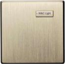 HDL-MPHG01.48 1-клавишная панель серии iScene, европейский стандарт. (без шинного соединителя HDL-MPPI.48)