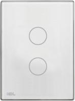 HDL-M/TBP2.1-46  2-клавишная сенсорная Smart панель KNX, LED индикация, австралийский/US стандарт (без шинного соединителя HDL-M/PCI.3)