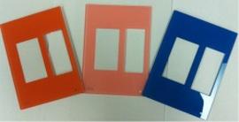 HDL Glass Facial Plate Внешняя стеклянная рамка для клавишных, сенсорных или DLP панелей. (Европейский и австралийский/US стандарт)