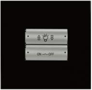 HDL-M/P02.1-38 2-клавишная панель KNX, европейский стандарт