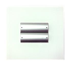 SB-WS4M4-EU 4-клавишная панель Slim, большие 2-позиционные клавиши, европейский стандарт