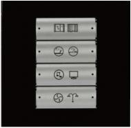 HDL-M/P04.1-36 4-клавишная панель KNX, австралийский/US стандарт