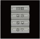 HDL-M/P04.1-38 4-клавишная панель KNX, европейский стандарт