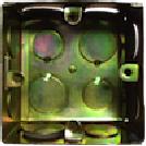 SB-GI-BOX Монтажная коробка, квадратная, металл